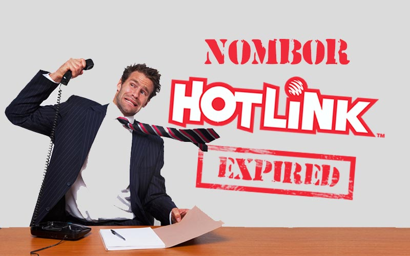 Bagaimana Cara aktifkan Nombor Hotlink Yang Sudah Expired