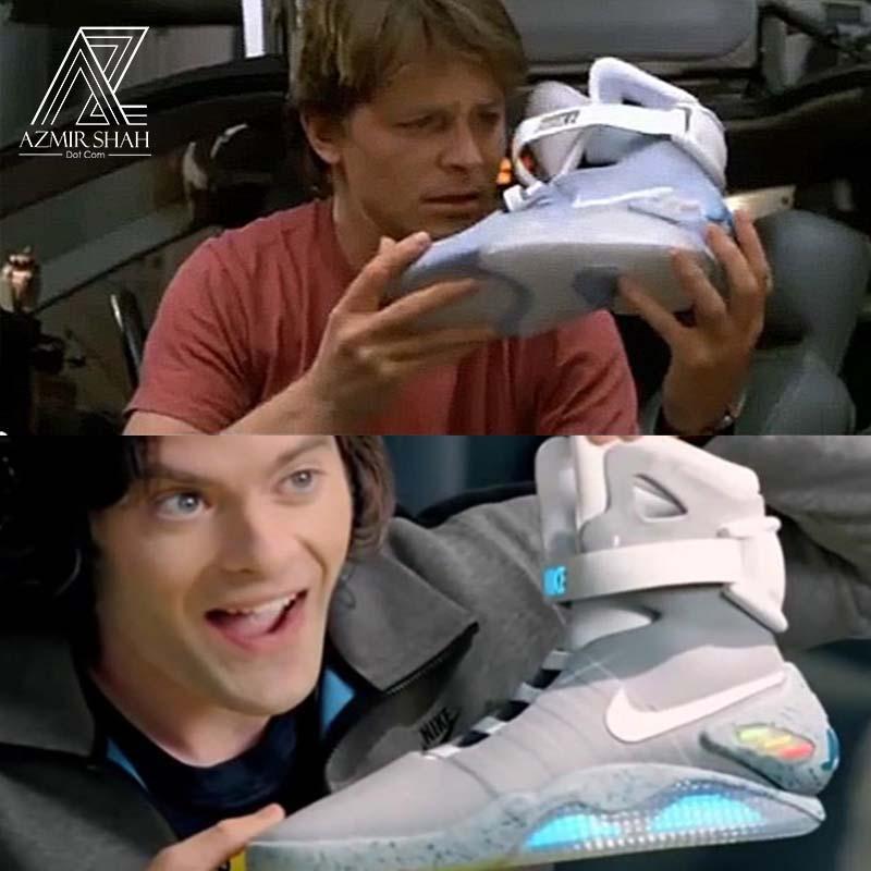 kasut ikat sendiri