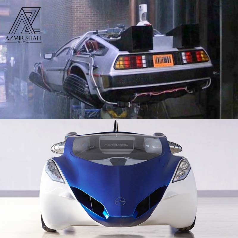 flying car, flying car back to the future
