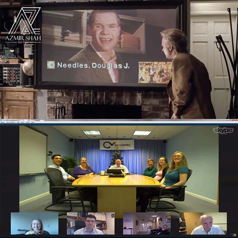 sidang video, video conference back to the future