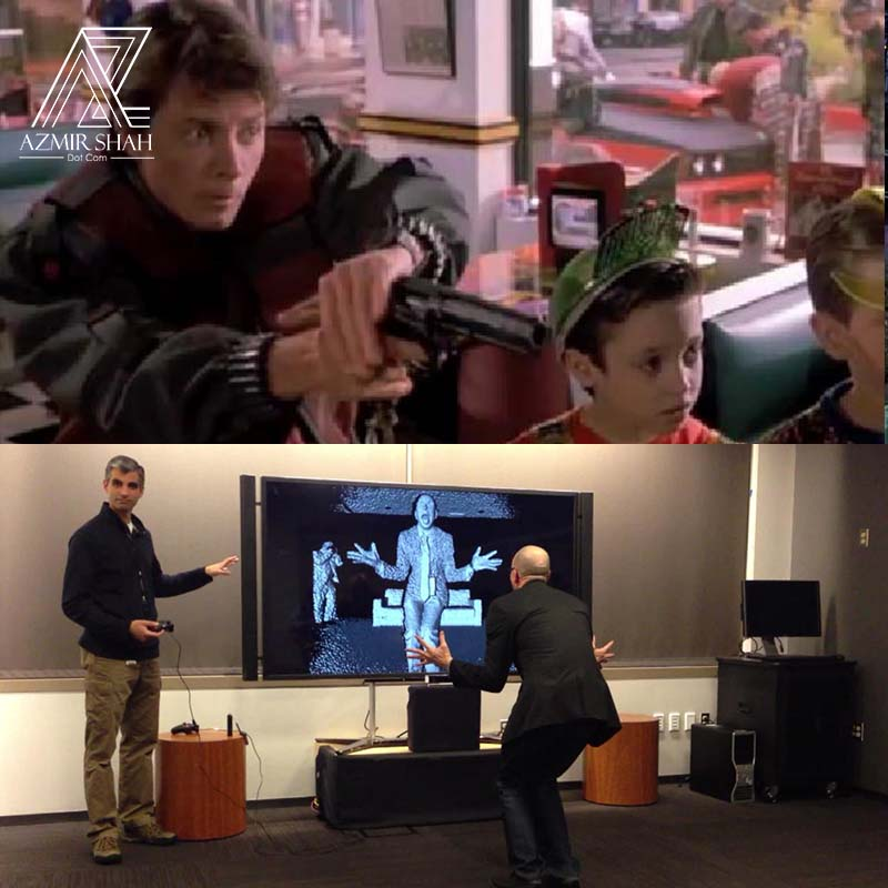 wireless game, handfree game back to the future