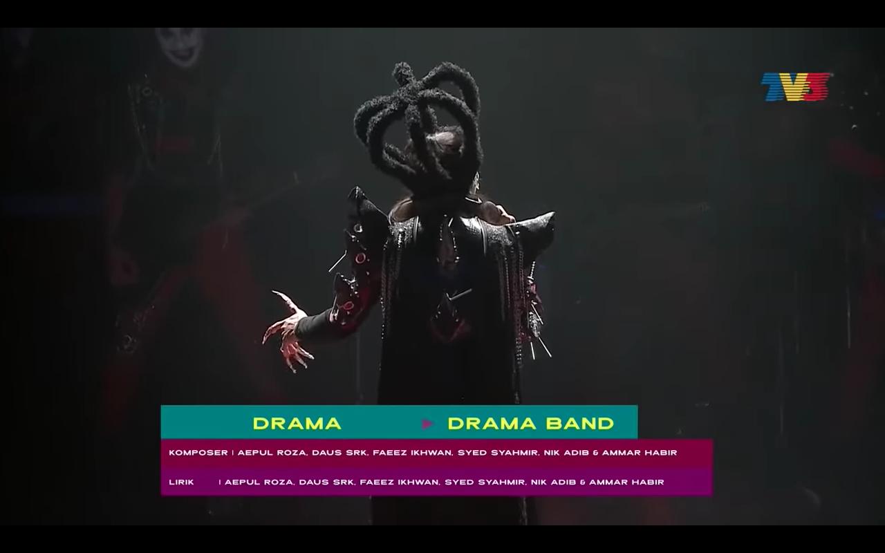 drama band, drama band ajl, ajl, anugerah juara lagu
