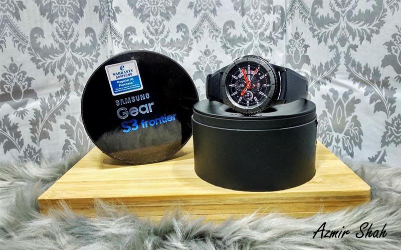 samsung galaxy s3 frontier, samsung gear s3 frontier, smart watch, jam pintar berbaloi, jam tangan samsung, samsung, smart watch samsung, bayar guna jam tangan