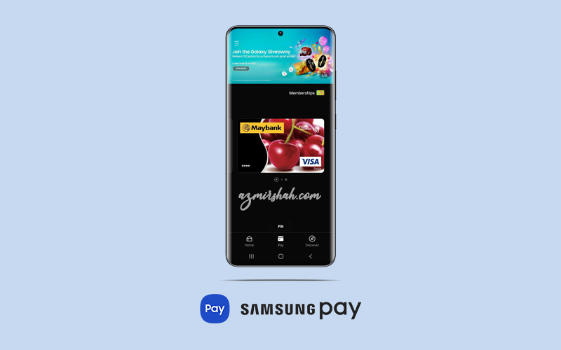 samsung pay, card information is invalid, samsung pay malaysia, masalah kad maybank, pembayaran guna phone
